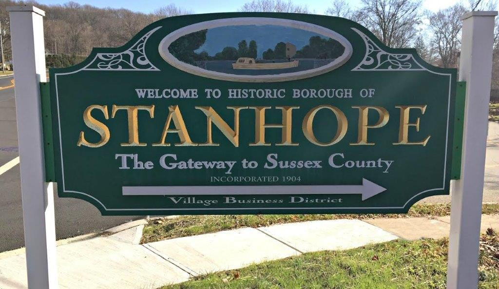 Stanhope NJ Sign