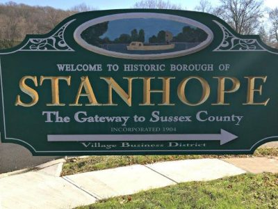 Stanhope NJ Sign