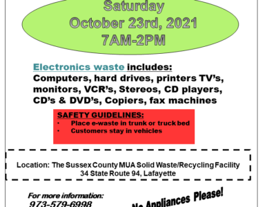 SCMUA Free Electronics Recycling Collection